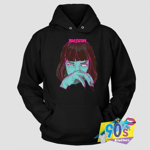 Pulp Fiction In The Face Hoodie