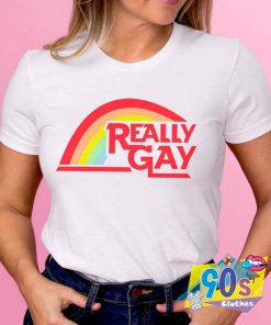 Really Gat Pride LGBT T Shirt