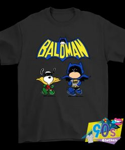 Robin Snoopy And Charlie Batman T Shirt