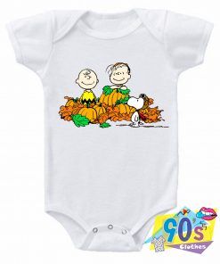 Snoopy Charlie Brown Linus Body baby Onesie