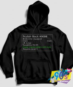 Stylish Warcraft Review Hoodie