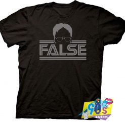 The Office Dwight Silhouette T Shirt