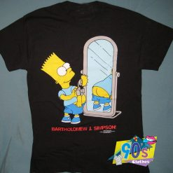 The Simpsons Bart Simpson Butt T Shirt