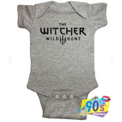 The Witcher Wild Hunt Baby Onesies