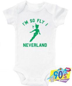 Tinker Bell Im So Fly I Neverland Baby Onesie