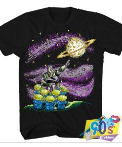 Toy Story Buzz Lightyear Starry Night T Shirt