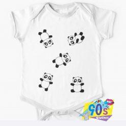 Unique Pandas Baby Onesie