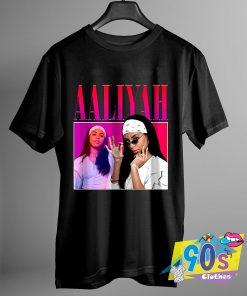 Vintage Aaliyah Hip Hop T Shirt