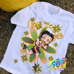Vintage Betty Boop Soccer 90s T Shirt