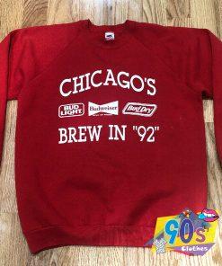 Vintage Bud Light Brew In 92 Unisex Sweatshirt
