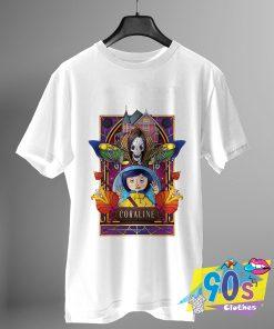 Vintage Coraline Movie T Shirt