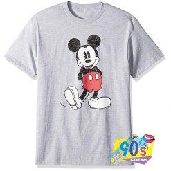 Vintage Disney Mickey Mouse Grunge T Shirt