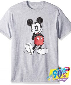 Vintage Disney Mickey Mouse Grunge T Shirt