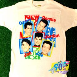 Vintage New Kids On The Block Band T Shirt