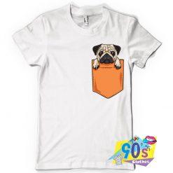 Vintage Pug Pocket T Shrt