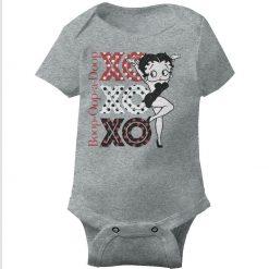 Vintage Xo Betty Boop Baby Onesie