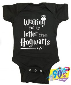 Waiting Letter From Hogwarts Harry Potter Baby Onesie