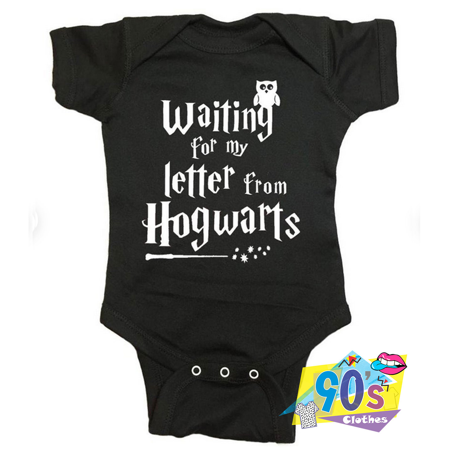 Harry Potter Baby Clothes Waiting for my Letter from Hogwarts 12 to 18 months