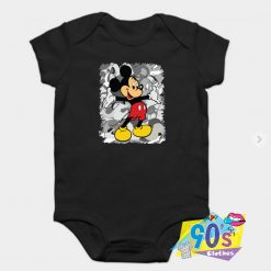 Wellcome to Mickey mouse Baby Onesie