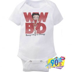 What Would Betty Boop BAby Onesie