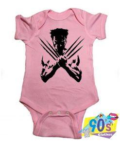 X Men Wolverine Baby Onesie