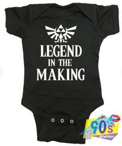 Zelda Legend In The Making Baby Onesies