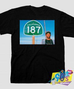 187 California Snoop Dogg T Shirt