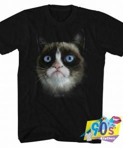 Big Grumpy Funny Face T Shirt