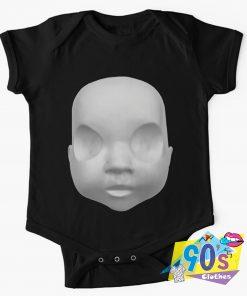 Bleach Face Art baby Onesie