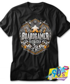 Boardgamer Ready to Play T Shirt