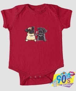 Bone to Pug Baby Onesie