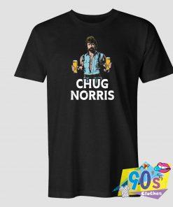 Chug Norris Holding Drink T Shirt