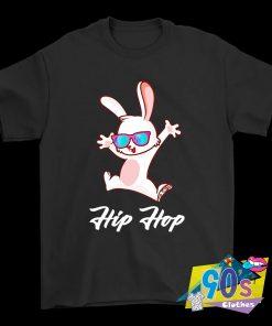 Funny Rabbiy Hip Hop Easter T Shirt