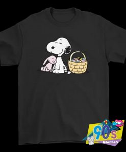 Happy Easter Beagle And Bunny Snoopy T Shirt