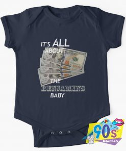 It's All About The Benjamins Baby Onesie