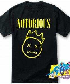 Notorious BIG Biggie Nirvana Style T Shirt