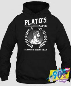 Plato's Cave Search Rescue Hoodie
