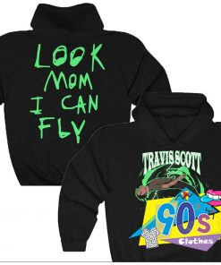 Travis Scott Look Mom I Can Fly Hoodie Merch