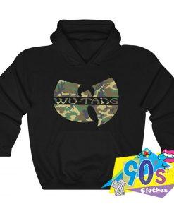 Wu Tang Camouflage Urban Hoodie Streetwear