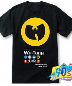 Wu Tang Clan 1992 Symbol Vintage T Shirt