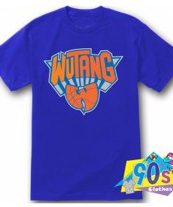 Wu Tang Clan Knicks Basketball Symbol T Shirt