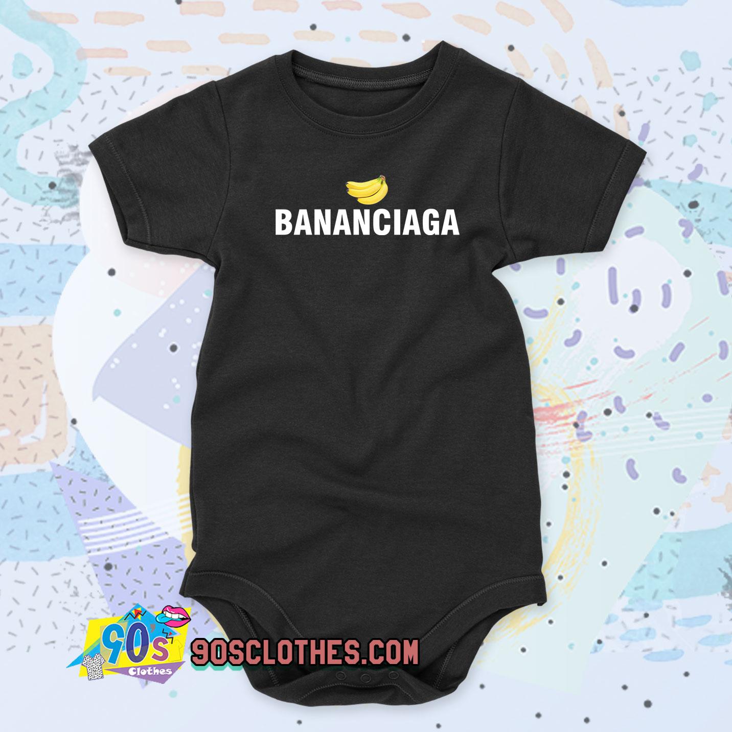 Bananaciaga Balenciaga Black Baby