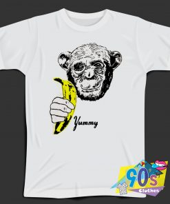 Funny Banana Andy Warhol Yummy Fruit T Shirt