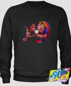 Funny Tekashi 6ix9ine Nicki Minaj Sweatshirt