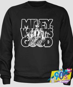 Nicki Minaj Miley Whats Good Sweatshirt