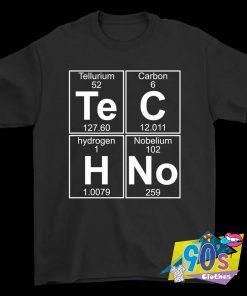 Tellurium Carbon Hydrogen Nobelium T Shirt