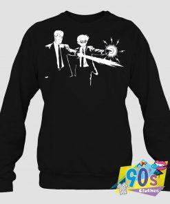 Yusuke And Kuwabara Pulp Fiction Sweatshirt