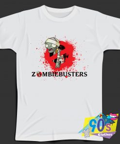 Zombie Busters Graphic T Shirt