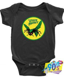 60s TV Classic The Green Hornet Baby Onesie