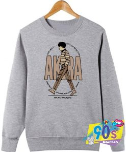 Akira Anime Fornight Magazine Sweatshirt